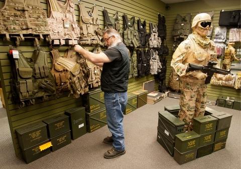 Army surplus items