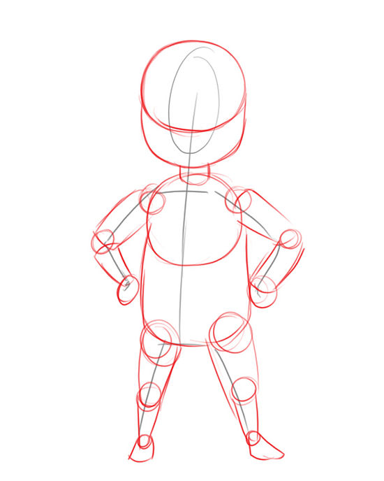 Drawing cartoons characters for Easy body drawings