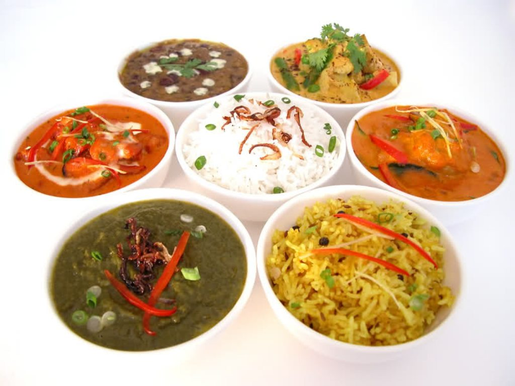 Indian Food Images Thali Menu Calori Chart Picture ...
