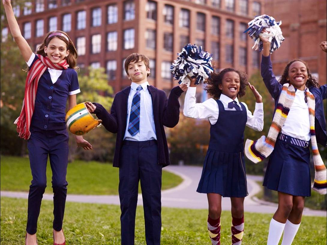 """the problems with the ideas of school uniforms in us public schools Uniform effects schools brunsma seeks to set the record straight on what uniforms can and cannot do for public schools """"the idea of school uniforms does."""