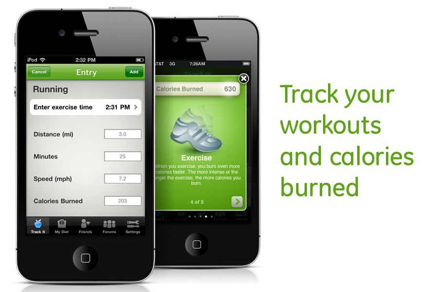Use an app to track your calories