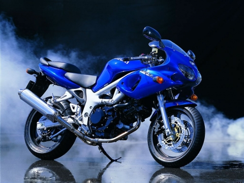 The Famous SV650 Suzuki Motorcycle