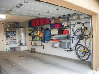 The pros & cons of various garage storage systems