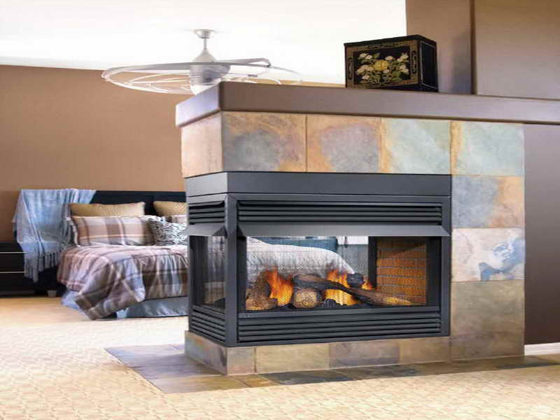 Natural Gas Fireplace Ventless