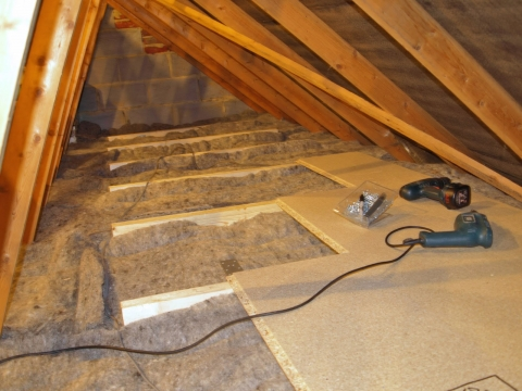 Attic Insulation – a way of saving energy and money (1)