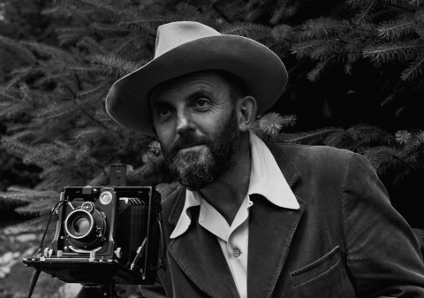 Ansel Adams, a Black and White Fine Artist