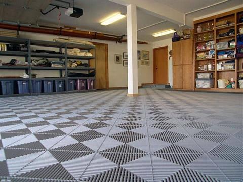 Choosing the Garage Flooring