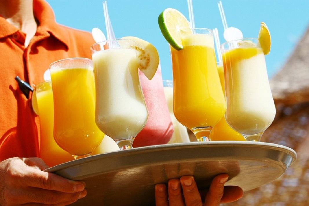 Drinks on the beach - Enjoy