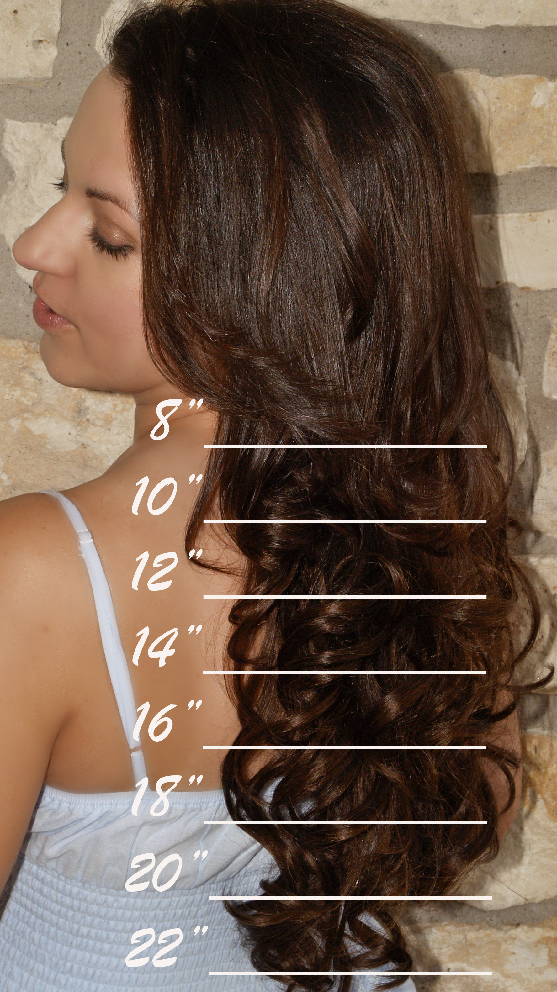 Experimenting With Different Lengths Of Hair Extensions Bloglet Com