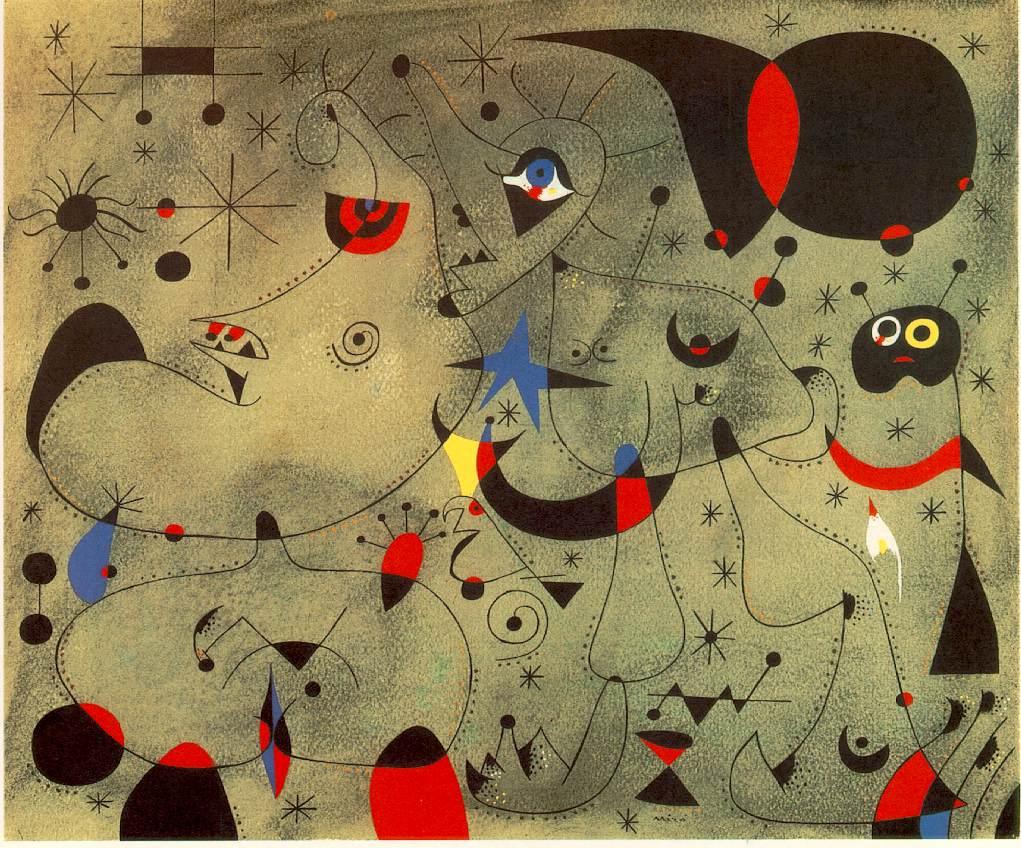 Joan Miro An Influential Abstract Artist Bloglet Com