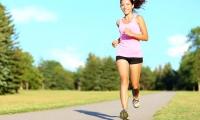 Sport fitness woman running