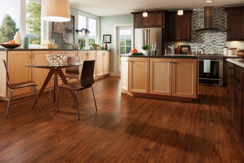 Is laminate flooring a viable option for the kitchen