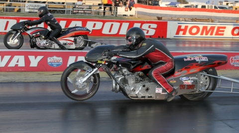 Motorcyle Drag Racing