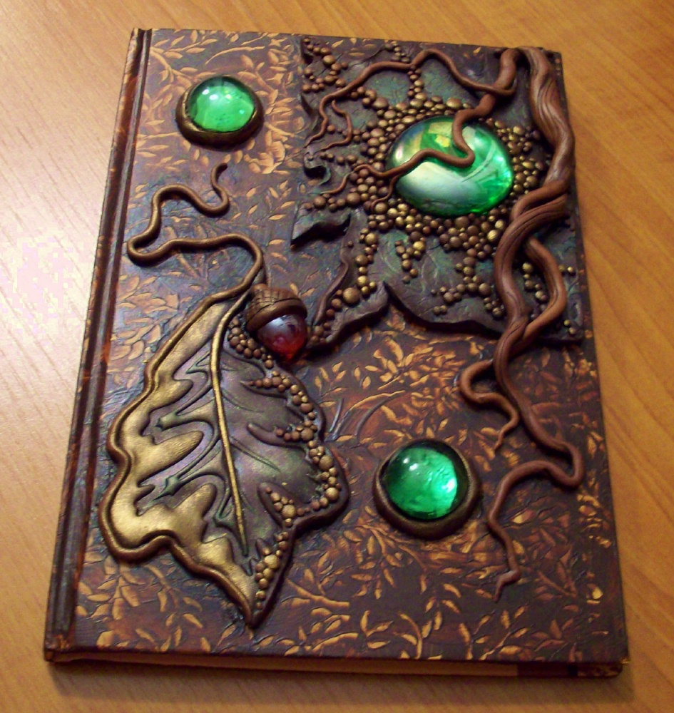 Creative Art Book Cover ~ Personal journal ideas to inspire you let