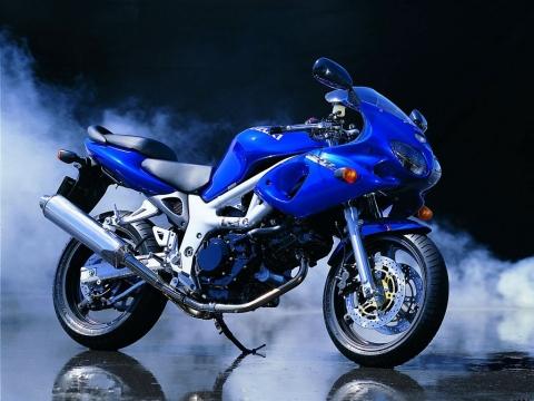 The Famous SV650 Suzuki Motorcycle