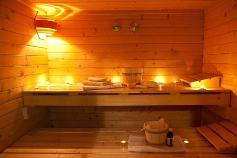 Inside-of-a-sauna