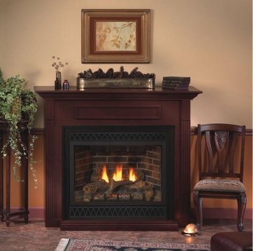 Vent-Free Gas Fireplaces - Are They Safe Picture